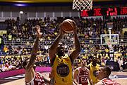 Patterson Lamar<br /> FIAT Torino - EA7 Emporio Armani Milano<br /> Lega Basket Serie A 2017-2018<br /> Torino 10/12/2017<br /> Foto M.Matta/Ciamillo &amp; Castoria