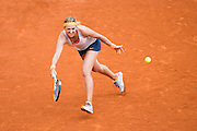 Paris, France. Roland Garros. June 1st 2013.<br /> Byelorussian player Victoria AZARENKA against Alize CORNET