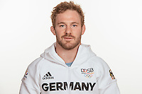 Tobias Englmaier poses at a photocall during the preparations for the Olympic Games in Rio at the Emmich Cambrai Barracks in Hanover, Germany, taken on 12/07/16 | usage worldwide
