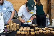 DRY FARMING COLLABORATIVE Showcase: 'Purple Abundance' and 'Purple Peruvian' potatoes,Researchers: Amy Garrett & Lucas Nebert, OSU Farmers: Harry Short, Mudjoy Farm & Chris Homanics Chefs:  David Gunawan, Ubuntu Canteen