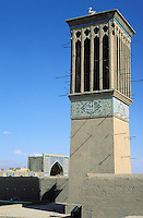 Iran, Kerman, Tour à vent // Wind Tower, Kerman, Iran