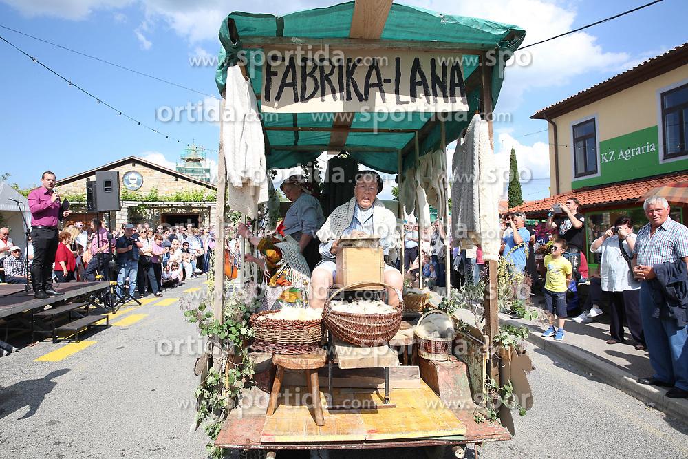 Praznik refoska, Marezige, May 20, 2018. Photo by Vid Ponikvar / Sportida