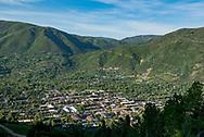 Aspen, Colorado in summer.