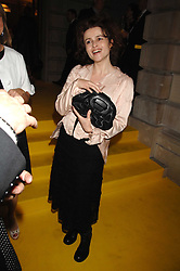 HELENA BONHAM-CARTER at the Royal Academy of Arts Summer Exhibition Party at the Royal Academy, Piccadilly, London on 6th June 2007.<br />