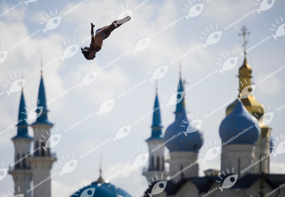 SPASOV Todor BUL<br /> High Diving - Men's 27m high dive preliminaries<br /> Day 11 03/08/2015<br /> XVI FINA World Championships Aquatics Swimming<br /> Kazan Tatarstan RUS July 24 - Aug. 9 2015 <br /> Photo Giorgio Perottino/Deepbluemedia/Insidefoto