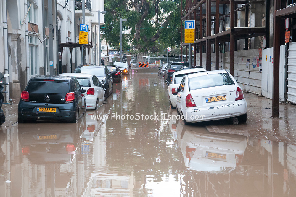 On January 4th 2020, heavy rainfall caused massive flooding in Tel Aviv Jaffa, Israel causing at least 2 deaths and countless damages to property and cars