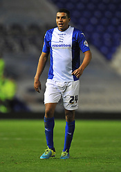 Birmingham City's Tom Adeyemi -  - Photo mandatory by-line: Alex James/JMP - Tel: Mobile: 07966 386802 29/10/2013 - SPORT - FOOTBALL - ST Andrew's - Birmingham - Birmingham City v Stoke City - Capital One Cup - Forth Round