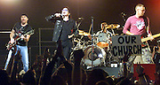 U2 Performs in Miami in 2002. Colin Braley-Photo