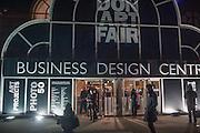 2013 London Art Fair vip private view.  Business Design Centre, Upper Street, London, 15 January 2013