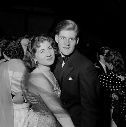 PADDOCK WOOD DANCE 1955.<br /> The Pantiles, near Bagshot, Surrey 25th March 1955.
