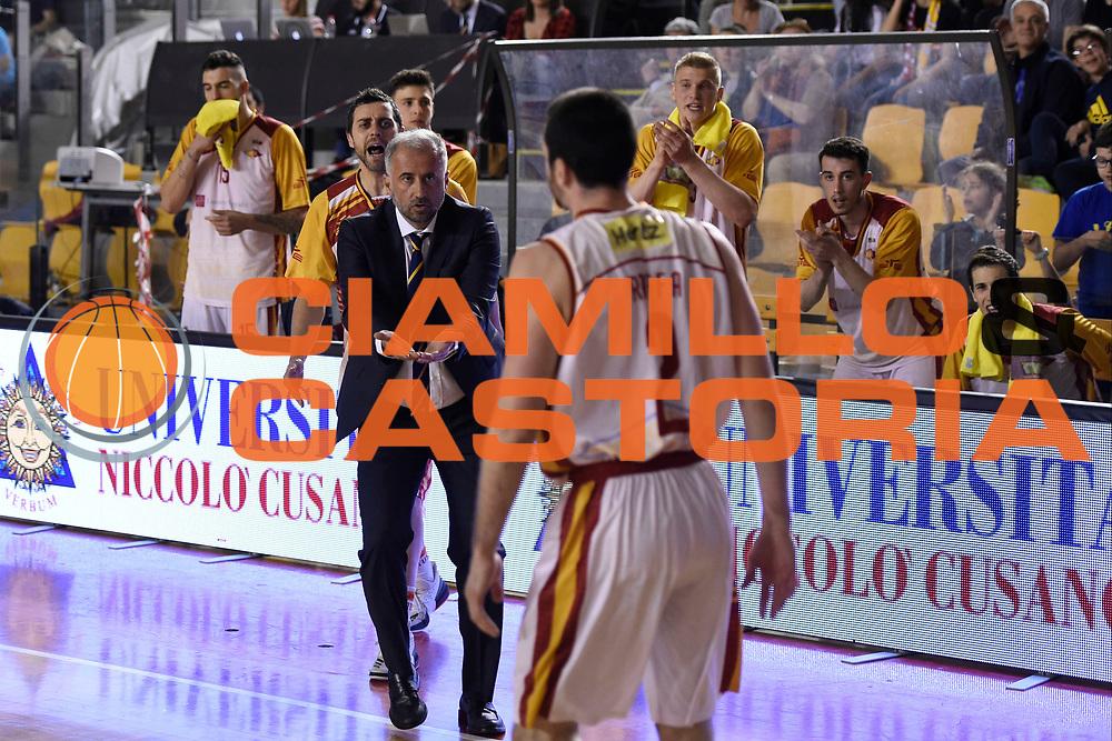 Fabio Corbani<br /> Unicusano Roma - OraSi Ravenna<br /> Campionato Basket LNP 2016/2017<br /> Roma 05/05/2017<br /> Foto Ciamillo-Castoria
