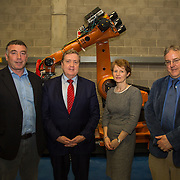 03.03.2017        <br /> Minister of State for Employment and Small Business, Pat Breen TD highlighted the growth potential in the aerospace and aviation industries in the Mid West during a recent visit to the University of Limerick. <br /> <br /> Pictured at the event were, Gerry Reynolds, Takumi, Minister of State for Employment and Small Business, Pat Breen TD, Dr. Ann Ledwith, Director  CPE UL and Prof. Michael McCarthy. Picture: Alan Place
