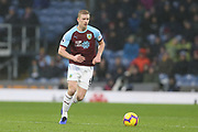 6 Ben Mee for Burnley FC during the Premier League match between Burnley and Fulham at Turf Moor, Burnley, England on 12 January 2019.