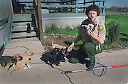 A day in the life with a Sacramento County Animal Control Officer. Puppies get a little love during a house call.