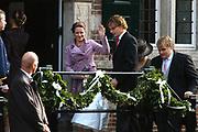 Zijne Hoogheid Prins Floris van Oranje Nassau, van Vollenhoven en mevrouw mr. A.L.A.M. S&ouml;hngen zijn zaterdag 22 oktober in de kerk van Naarden in het  huwelijk getreden. De prins is de jongste zoon van Prinses Magriet en Pieter van Vollenhoven.<br /> <br /> Church Wedding Prince Floris and Aim&eacute;e S&ouml;hngen. <br /> <br /> Church Wedding Prince Floris and Aim&eacute;e S&ouml;hngen in Naarden. The Prince is the youngest son of Princess Margriet, Queen Beatrix's sister, and Pieter van Vollenhoven. <br /> <br /> Op de foto / On the photo;<br /> <br /> <br /> <br /> Zijne Hoogheid Prins Bernhard van Oranje-Nassau, van Vollenhoven en Hare Hoogheid Prinses Annette van Oranje-Nassau, van Vollenhoven<br /> <br /> His highness prince Bernhard van Oranje-Nassau, of Vollenhoven and her highness princess Annette van Oranje-Nassau, of Vollenhoven