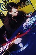 Paul Oakenfold DJing, London, U.K, 1998.