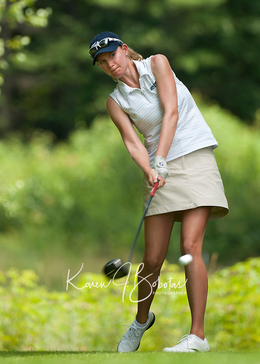 Janine Fellows during LPGA Futures Tour Saturday, July 23rd.  (Karen Bobotas/for the Concord Monitor)