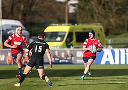 Harry Rowson of Bristol Bears U18 runs with the ball - Mandatory by-line: Arron Gent/JMP - 12/01/2020 - RUGBY - Allianz Park - London, England - Saracens U18 v Bristol Bears U18 - Premiership U18 Academy