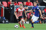 Josh Sims of Southampton U23's during the Under 23 Premier League 2 match between Southampton and Manchester United at St Mary's Stadium, Southampton, England on 22 August 2016. Photo by Phil Duncan.