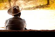 Resting near Hierve el Agua
