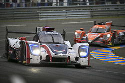 June 16, 2018 - Le Mans, FRANCE - 32 UNITED AUTOSPORTS (USA) LIGIER JSP217 GIBSON LMP2 WILLIAM OWEN (USA) HUGO DE SADELEER (CHE) JUAN PABLO MONTOYA  (Credit Image: © Panoramic via ZUMA Press)