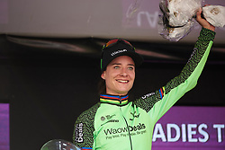 Marianne Vos (NED) wins the final stage at Ladies Tour of Norway 2018 Stage 3. A 154 km road race from Svinesund to Halden, Norway on August 19, 2018. Photo by Sean Robinson/velofocus.com