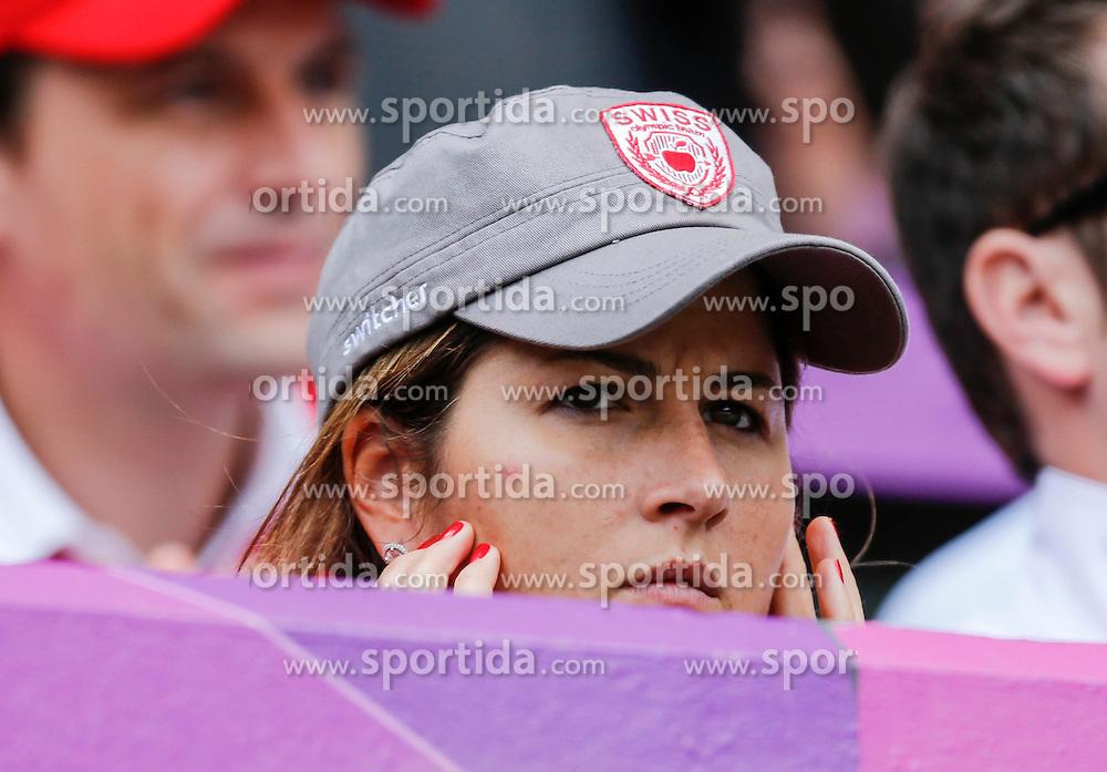 Olympic Games London 2012, Tennis men.Mirka , wife of Roger Federer (SUI).© pixathlon