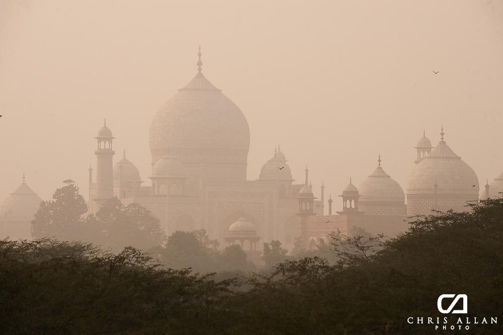 Taj Mahal from afar