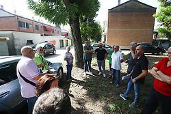 PROTESTA QUARTIERE VIALE MONTECATINI PONTELAGOSCURO