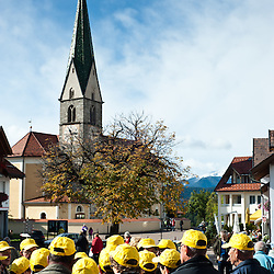 Terento, Alto Adige - 7 ottobre 2011: Transumanza <br /> <br /> Terento, Suditrol - October 7 2011: Traditional transhumance