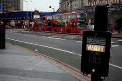 UK ENGLAND LONDON 25MAR14 - Pedestrians and bus traffic near Waterloo Station, London.<br /> <br /> jre/Photo by Jiri Rezac<br /> <br /> © Jiri Rezac 2014