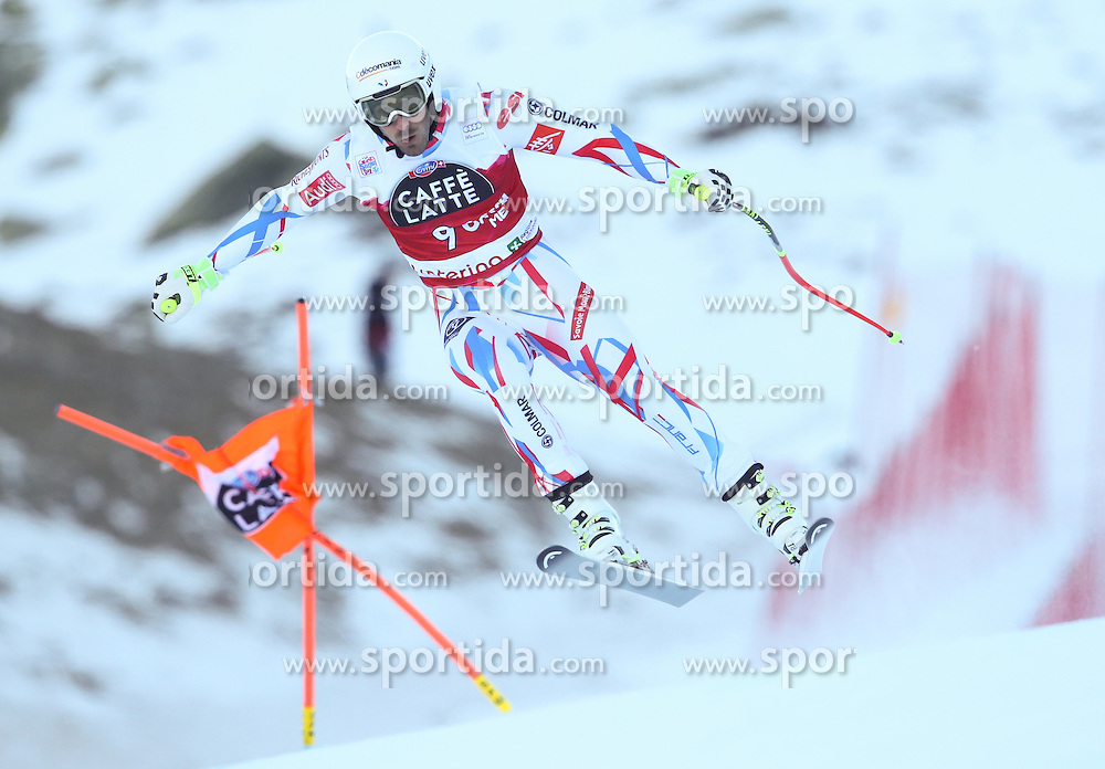 28.12.2015, Deborah Compagnoni Rennstrecke, Santa Caterina, ITA, FIS Ski Weltcup, Santa Caterina, Abfahrt, Herren, 2. Training, im Bild Adrien Theaux (FRA) // Adrien Theaux of France in action during the 2nd practice run of men's Downhill of the Santa Caterina FIS Ski Alpine World Cup at the Deborah Compagnoni Course in Santa Caterina, Italy on 2015/12/28. EXPA Pictures © 2015, PhotoCredit: EXPA/ Johann Groder