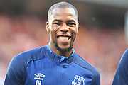 Everton defender (on loan from AS Monaco) Djbril Sidibe (19) during the Premier League match between Aston Villa and Everton at Villa Park, Birmingham, England on 23 August 2019.