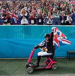 Baker Natasha (GBR) - Cabral<br /> Individual Championship Test  - Grade II  <br /> London 2012 Paralympic Games<br /> © Hippo Foto - Jon Stroud