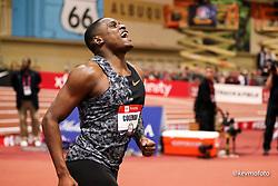 2020 USATF Indoor Championship<br /> Albuquerque, NM 2020-02-15<br /> photo credit: © 2020 Kevin Morris<br /> mens 60m final, Nike