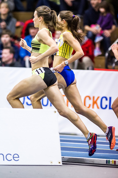 USATF Indoor Track & Field Championships: womens two mile, Katie Matthews, BAA adidas
