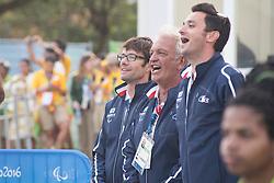 Damien Seguin, Medaile D'Or, Podium, 2.4R, Voile, Team Mates à Rio 2016 Paralympic Games, Brazil
