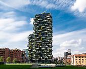 Bosco Verticale in Nuova Isola, Milano by Stefano Boeri