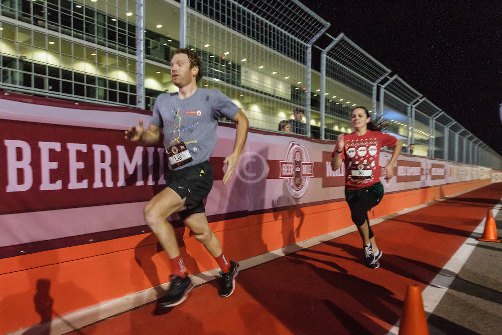 Beer Mile World Championships, Inaugural, Kill Cliff 4x400 relay