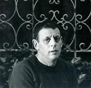 Philip Glass (born 1937) in 1989. American composer.