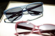 Prototype sunglass units for Quantum Gravity. © Dan Henry / BiciPhoto.com