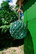 Glass Fishing Ball, Peleliu, Palau, Micronesia<br />