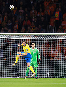 AMSTERDAM, NEDERL&Auml;NDERNA - 2017-10-10: Andreas Granqvist under FIFA 2018 World Cup Qualifier mellan Nederl&auml;nderna och Sverige p&aring; Amsterdam ArenA den 10 oktober, 2017 i Amsterdam, Nederl&auml;nderna. <br /> Foto: Nils Petter Nilsson/Ombrello<br /> ***BETALBILD***