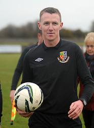 Mayo League Refeere Damien McGrath,<br />Pic Conor McKeown