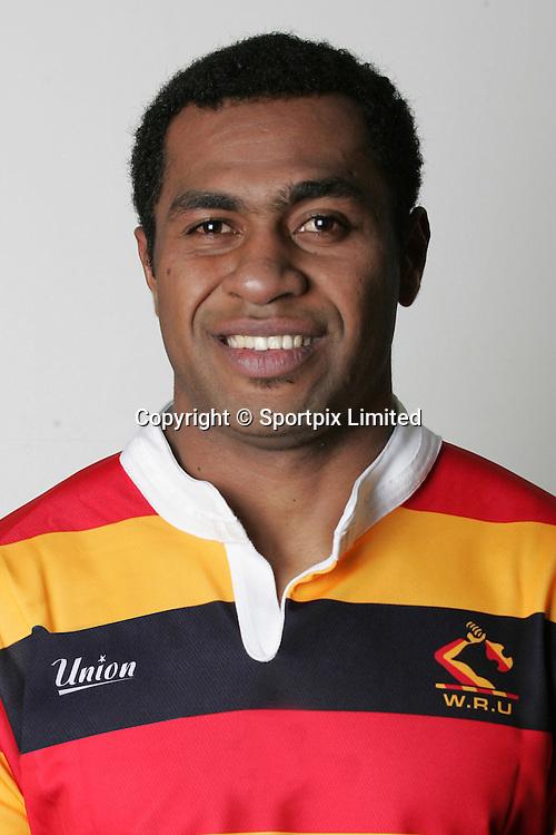 Sitivini Sivivatui, Waikato squad 2008 season, headshot portrait, Air New Zealand Cup, Rugby Union, Waikato Stadium, Hamilton, Waikato, New Zealand