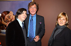 Left to right, artist GEORGE CONDO and PRINCE ERNST OF HANOVER at an exhibition of paintings by artist George Condo entitled 'Religious Paintings' held at the Spruth Magers Lee Gallery, 12 Berkeley Street, London W1 on 12th October 2004.<br />