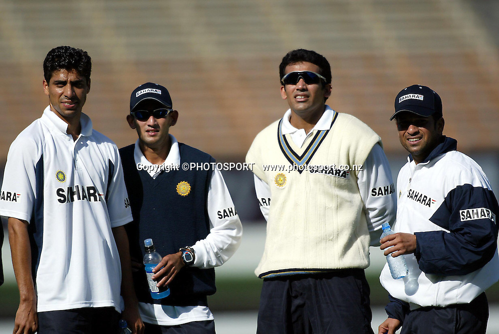 03 December 2002, Jade Stadium, Christchurch, New Zealand, Indian Cricket tour to New Zealand 02/03<br />