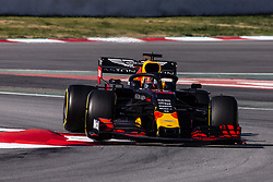 February 28, 2019 - Barcelona, Barcelona, Spain - Pierre Gasly from France with 10 Aston Martin Red Bull Racing - Honda RB15 in action  during the Formula 1 2019 Pre-Season Tests at Circuit de Barcelona - Catalunya in Montmelo, Spain on February 28. (Credit Image: © Xavier Bonilla/NurPhoto via ZUMA Press)