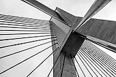 Stock Photos of the ANZAC Bridge, Sydney, Australia
