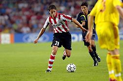 12-09-2006 VOETBAL: CHAMPIONS LEAGUE: PSV - LIVERPOOL: EINDHOVEN<br /> PSV en Liverpool eindigt zoals ze begonnen zijn 0-0 / Ibrahim Afellay<br /> ©2006-WWW.FOTOHOOGENDOORN.NL